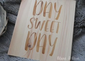 Cartel madera day sweet day