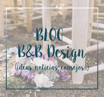 Blog Blanc and Blue Design